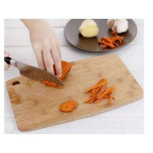 Planche à Découper en Bambou carotte
