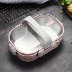 Lunch box inox