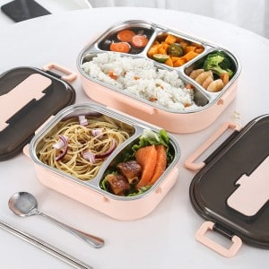 Lunch box compartimentée