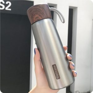 Thermos Gourde Argent Style 2