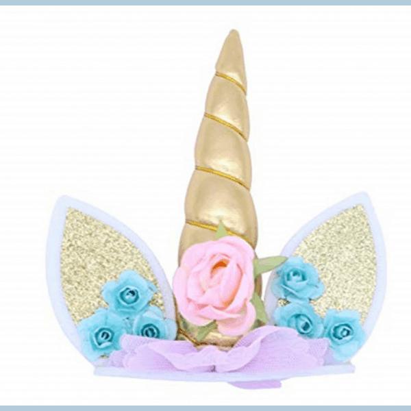 Corne gâteau licorne