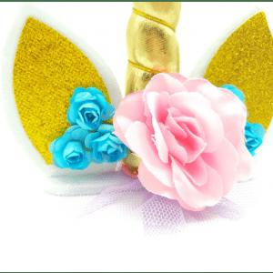 décorer un gâteau licorne