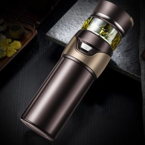 Thermos Infuseur Marron