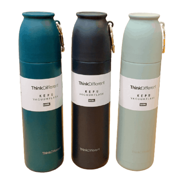 Thermos Thé avec Goblet Think Different