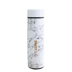 Thermos Thé Enjoy Sweet Blanc Marbre