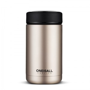 Thermos Thé Inox Oneisall Or