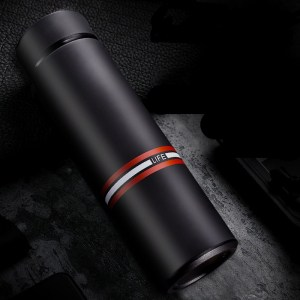 Thermos Thé Isotherme Life Noir