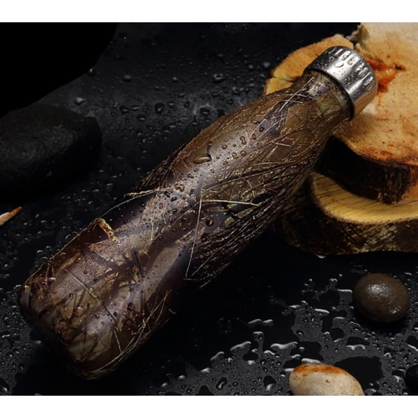 Thermos Thé Inox Écorce de bois