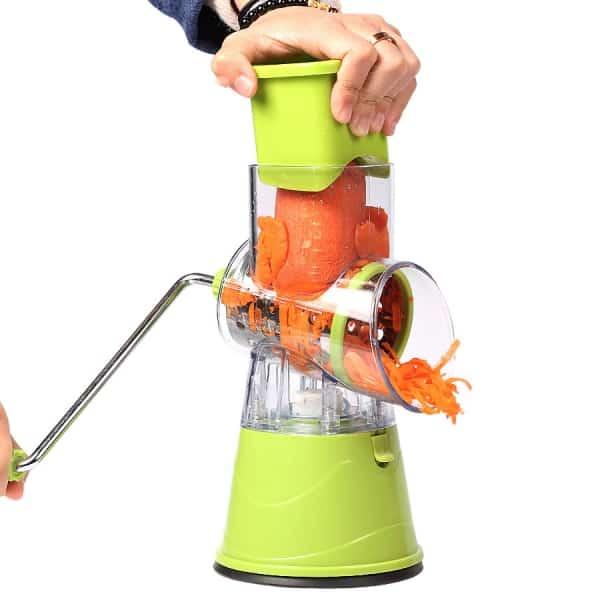 Râpe à Manivelle verte carotte